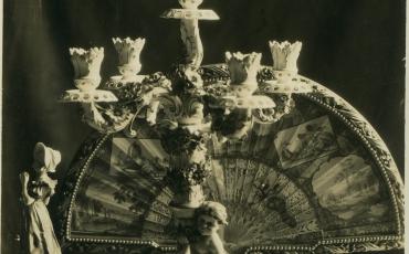 Abanico decorativo. Fototeca Histórica de la Oficina del Historiador de la Ciudad