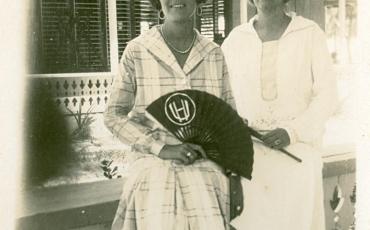 Retrato de señoras, 1927. Varadero, Matanzas, Cuba. Fototeca de Cuba