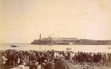 Castillo de Los Tres Reyes de El Morro en 1902