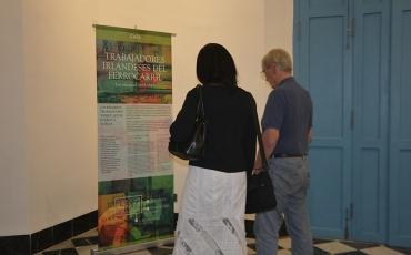 Exposicion Los irlandeses en América Latina. Palacio del Segundo Cabo, febrero de 2017