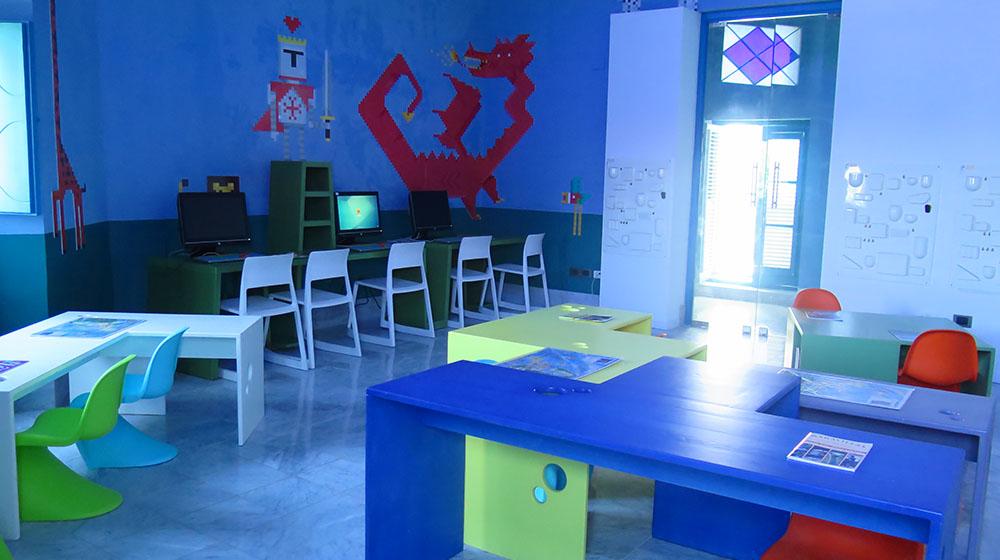 Vista de la Mediateca infantil