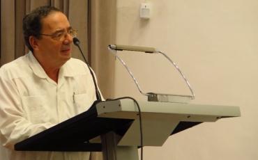 Viceministro primero del CITMA Dr. Fernando M. González Bermúdez