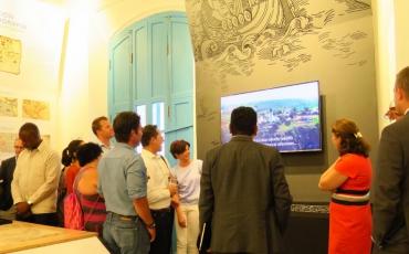 Exposición de la Sala de Cartografía, del Palacio del Segundo Cabo