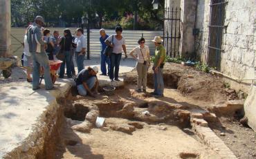 Excavaciones arqueológicas realizada