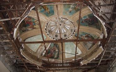 Restauración de la cúpula