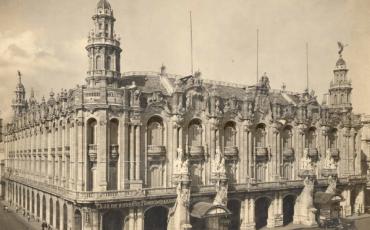 Centro Gallego. Foto del Archivo Nacional de Cuba
