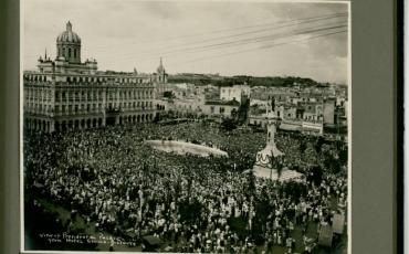 Vista actual del Gran Teatro de La Habana Alicia Alonso