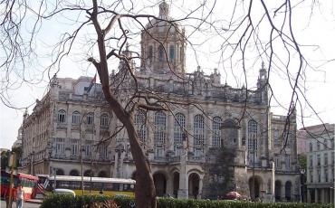 Vista actual del Museo de la Revolución