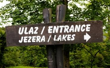 3- Entrada a los lagos del Parque Nacional de Plitvice