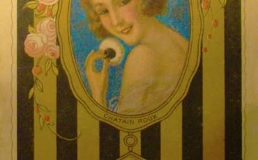 Anuncio de la Casa Dorin de París, Hacia 1920