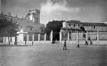 Palacio del Segundo Cabo y Castillo de La Real Fuerza, noviembre 21 de 1900