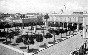 Plaza de Armas, 1900
