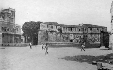 Palacio del Segundo Cabo y Castillo de La Real Fuerza, mayo 25 de 1901