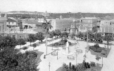 Plaza de Armas, 1901
