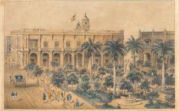 Plaza de Armas, 1848