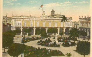 Plaza de Armas. Ayuntamiento y Senado, 1910 a 1920