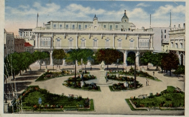 Vista de la Plaza de Armas, Década del 20 del siglo XX