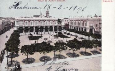 Plaza de Armas, inicios del siglo XX