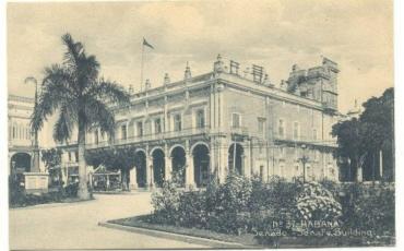 Edificio del Senado, 1910-1920. Tarjeta postal. Archivo Histórico de la OHC