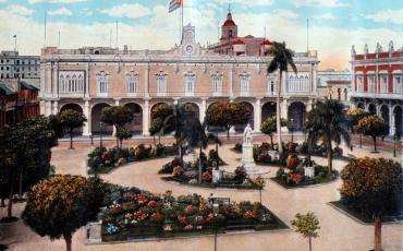 Vista de la Plaza de Armas, 1910 a 1920