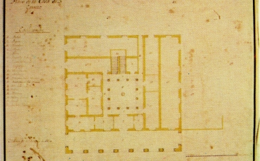 Plano de la Casa de Correos, 1770. Archivo Militar General de Madrid