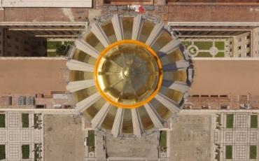 10. La cúpula dorada del Capitolio Nacional de Cuba. Foto Naturaleza Secreta.