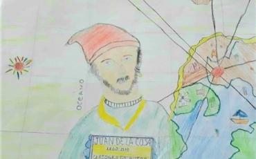02. Marcos Julio dibujó a Juan de la Cosa