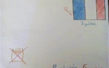 03. Gabriela Isabel ilustró la Revolución Francesa