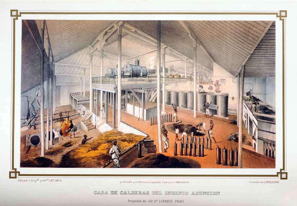 Casa de calderas del ingenio Asunción