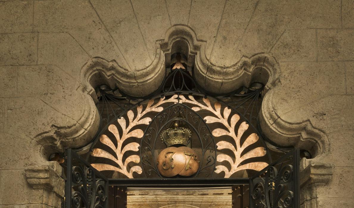 Cancelación del Sello Postal del Palacio del Segundo Cabo