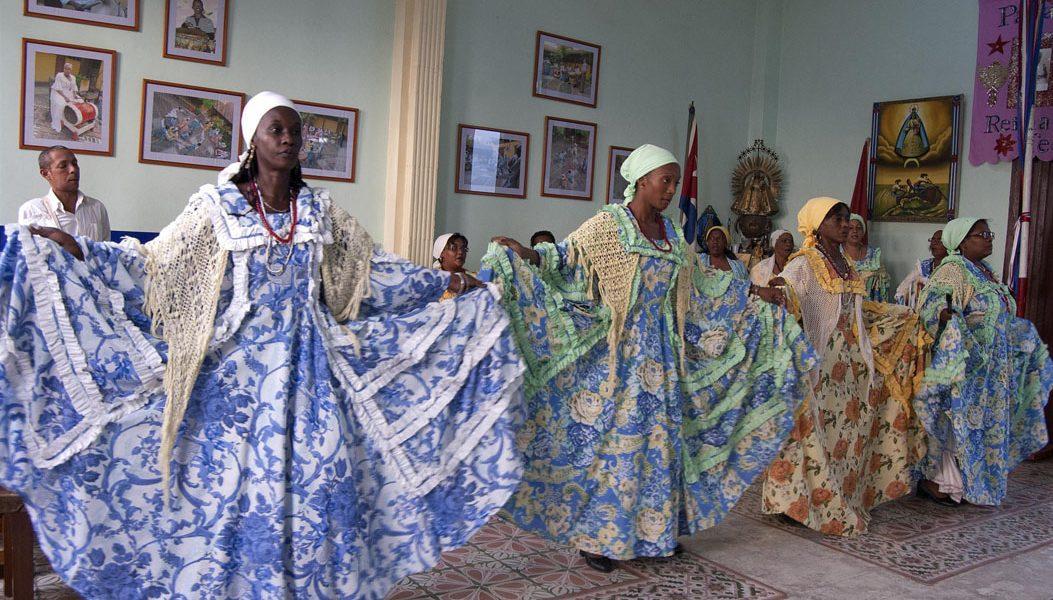 Tumba francesa: La Caridad de Oriente. Oficina del Conservador de la ciudad de Santiago de Cuba