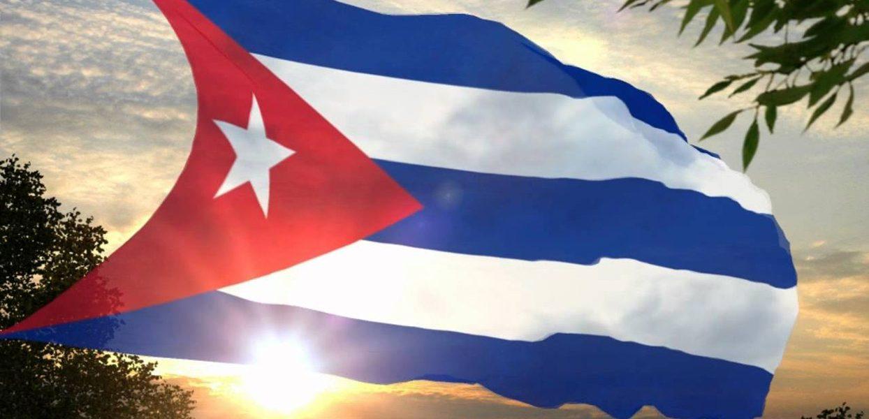 Bandera cubana creada por el patriota cubano Miguel Teurbe Tolón