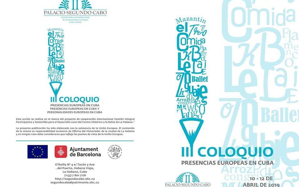 III Coloquio Presencias europeas en Cuba. Costumbres, tradiciones y refranes