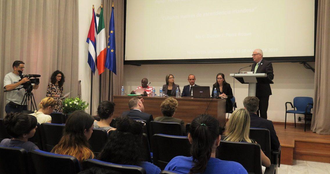 """Panel """"Personalidades cubanas y su legado irlandés"""""""