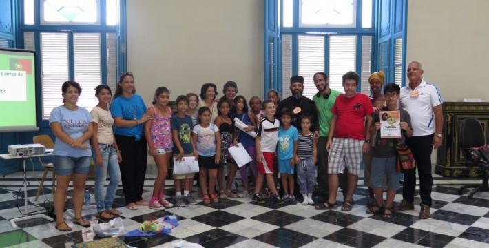 Clausura el taller infantil de Verano Descubriendo Europa, Rutas y Andares, 2016