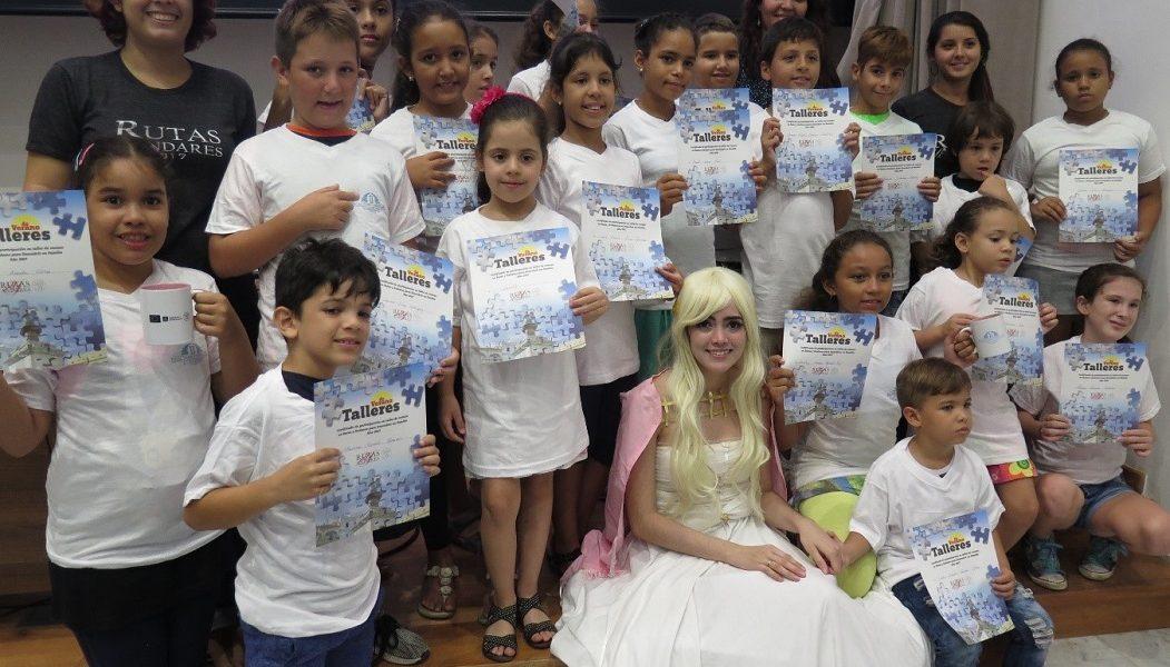 Culmina el taller infantil Descubriendo Europa