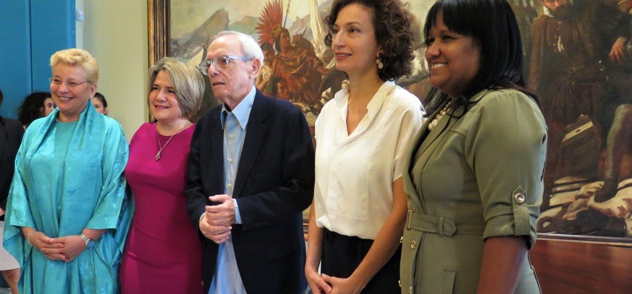 Directora General de la UNESCO visita el Centro Histórico de La Habana