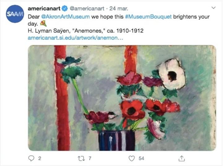 #MuseumBouquet