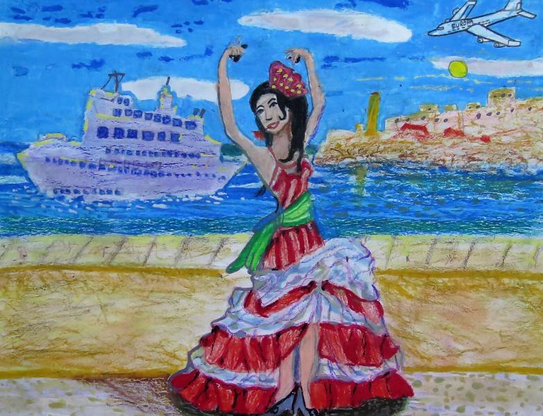 Presencia de la danza española en Cuba